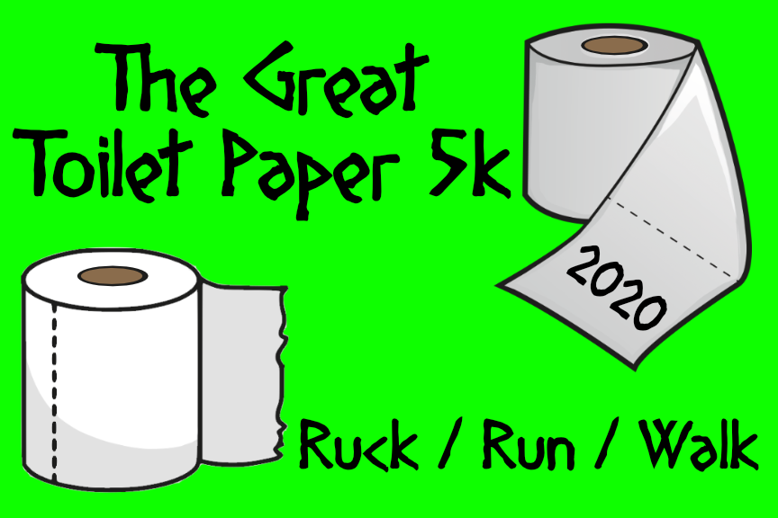 The Great TP Ruck / 5k moral patch